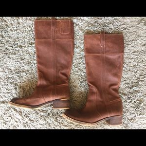 LB Evans Leather Boots (knee-high)